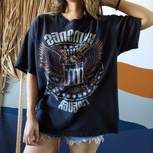 Vintage Tops - Vintage Ramones Forever Band Tee